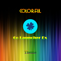 Colorful Go Launcher Ex Theme icon