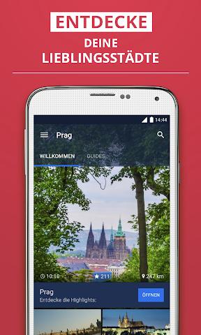 Screenshot 1 Prag Reiseführer