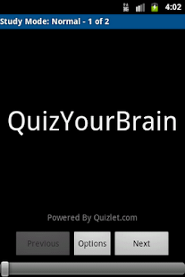 QuizYourBrain - screenshot thumbnail