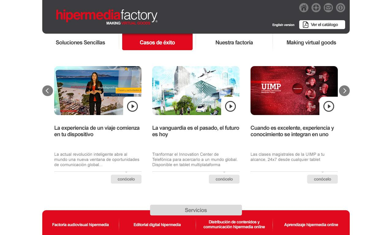 Hipermedia Factory- screenshot