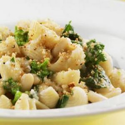 Orecchiette with Broccoli Rabe and Fried Chickpeas Recept | Yummly