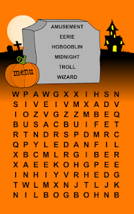 Halloween Word Search Puzzles - Android Apps on Google Play