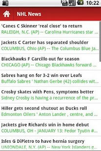 American Hockey News- screenshot thumbnail
