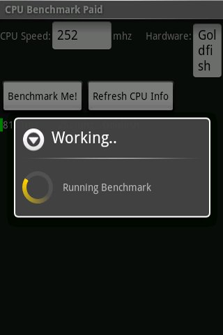 CPU Benchmark (No Ads)- screenshot