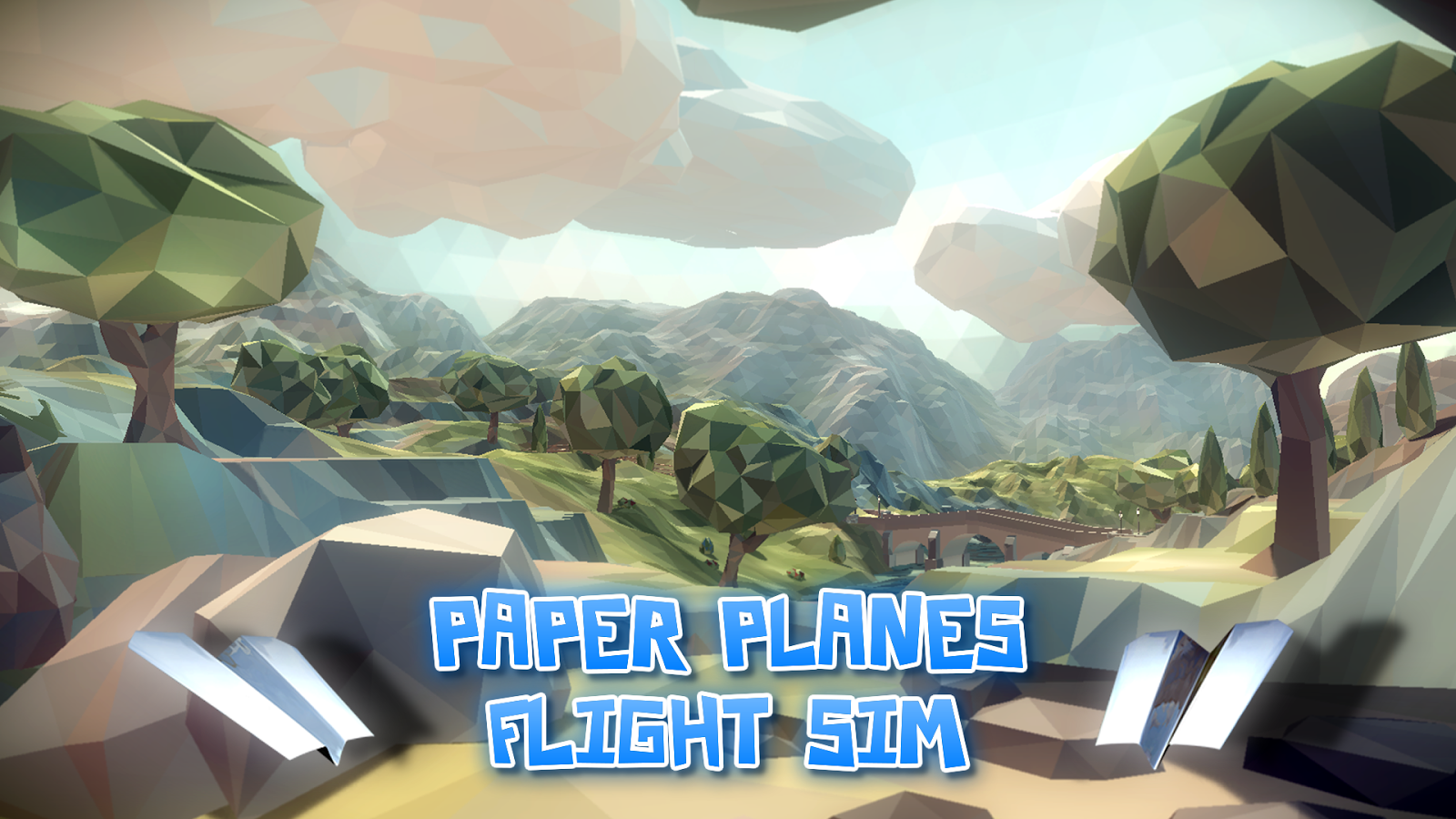 Paper Planes Flight Sim- screenshot