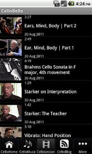 CelloBello - screenshot thumbnail