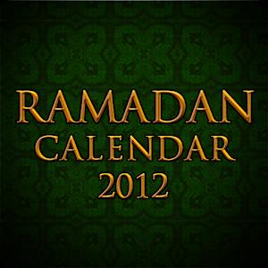 Ramadan Calendar 2012