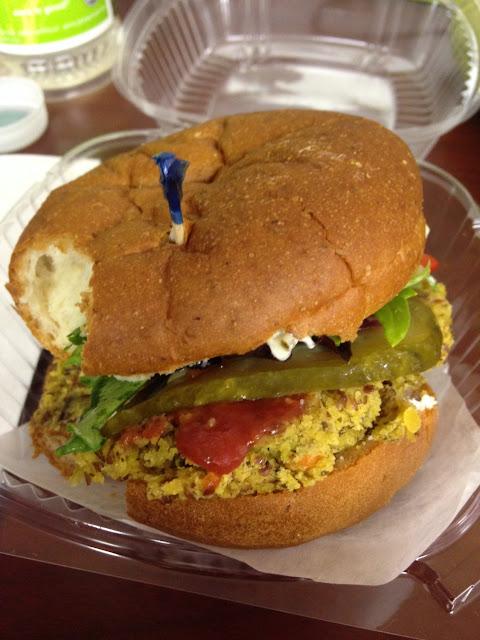 Veggie burger!!!