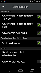 Detector de Radares - CamSam Screenshot