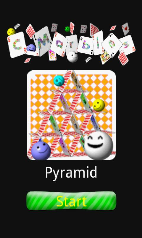 C-Marbles Card [Pyramid] - screenshot