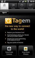 Screenshot of Tagem Reader