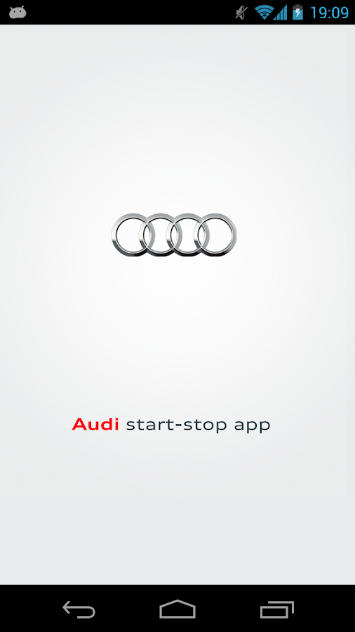 Audi Start-Stop - screenshot
