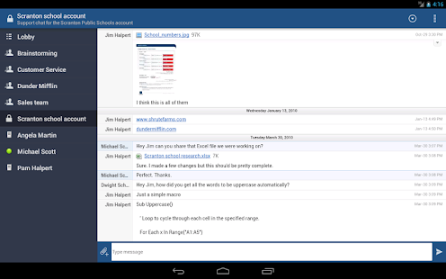 HipChat - Team chat on-the-go - screenshot thumbnail