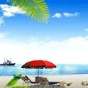 Sandy Beach Live Wallpaper icon
