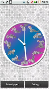 Bunny Kama Sutra Clock- screenshot thumbnail