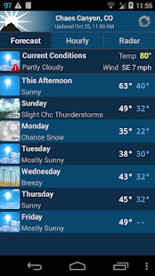 NOAA Weather Unofficial - screenshot thumbnail