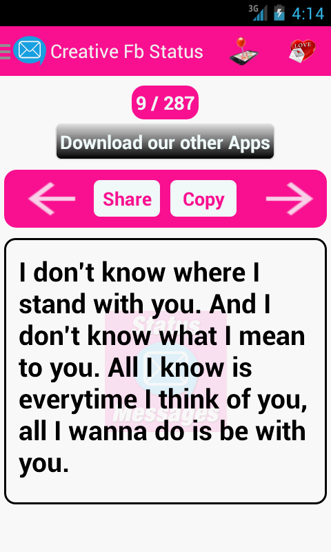 Status Messages - Android Apps on Google Play