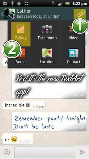 TextArt u2605 Cool Text creator  screenshots 8
