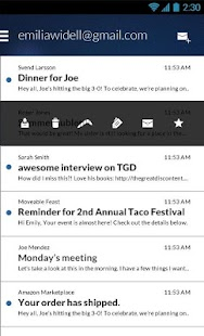 Email App for Gmail & Exchange Screenshot 1