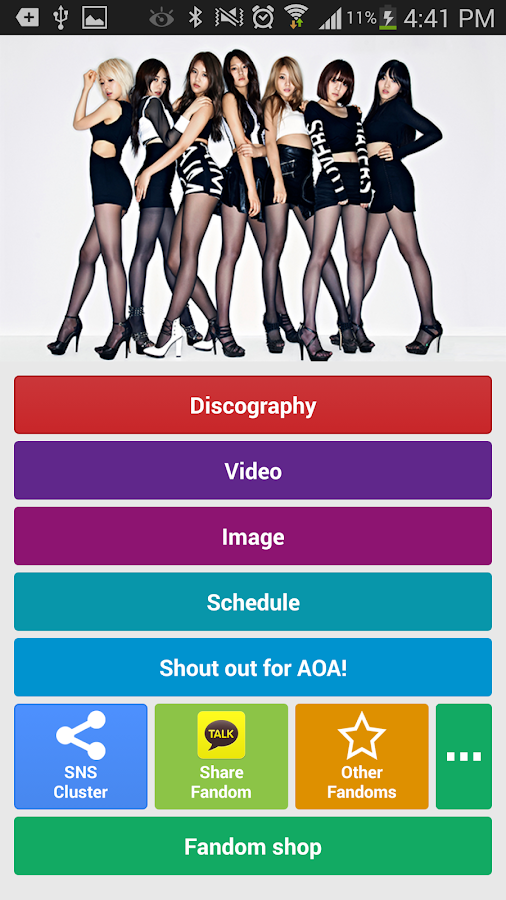 AOA Fandom - screenshot