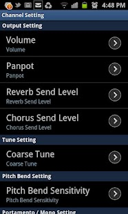 WaveSynth for Android - screenshot thumbnail