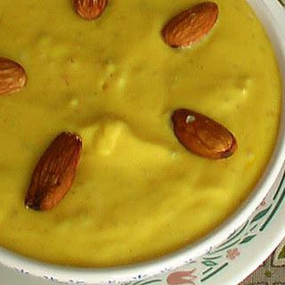 Mango Shrikhand (Aamrakhand)