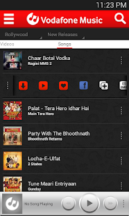 Vodafone Music - screenshot thumbnail