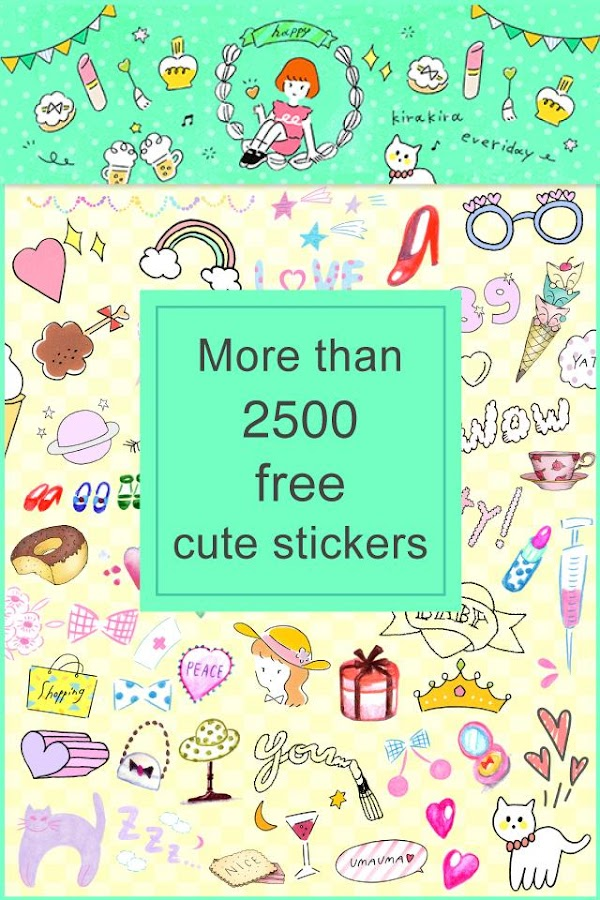 Collage&Add Stickers papelook- screenshot