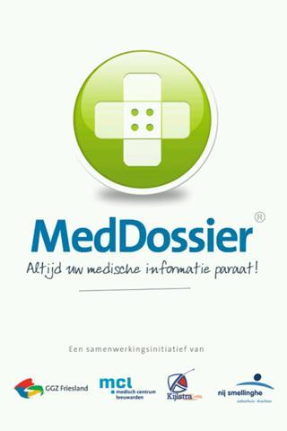 MedDossier- screenshot