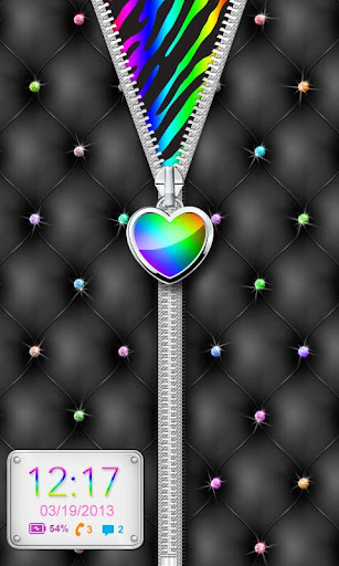 ♥ Rainbow Heart Theme Locker ♥