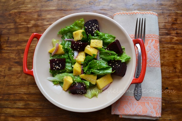 Salad with Mango and Beets Recipe