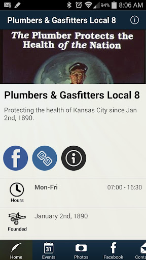 Plumbers Gasfitters Local 8