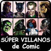 Super Villains comic