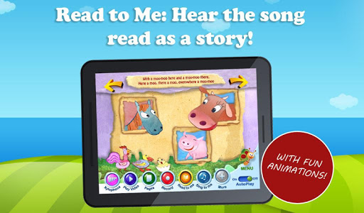 【免費書籍App】Old MacDonald Song Book BabyTV-APP點子