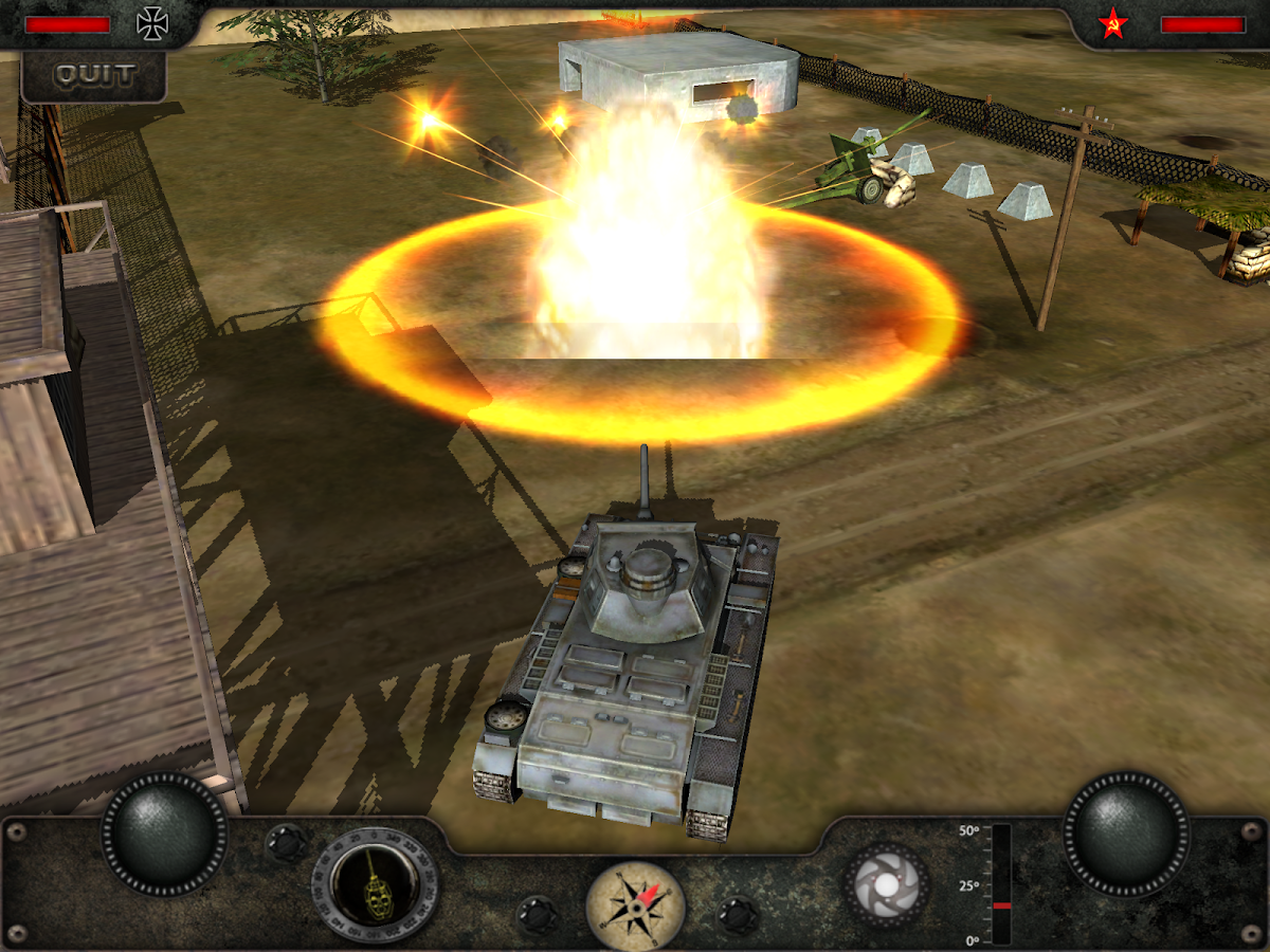 Armored Combat - Tank War Hero- screenshot