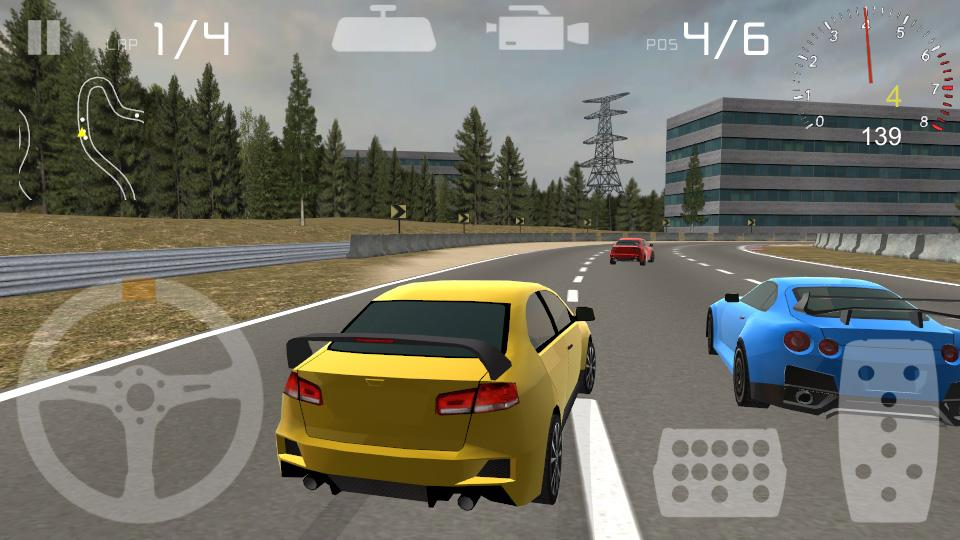 M-acceleration 3D Car Racing- screenshot