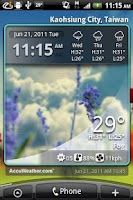 Screenshot of 9s-Weather (Advance)