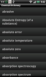 Chemical Dictionary- screenshot thumbnail