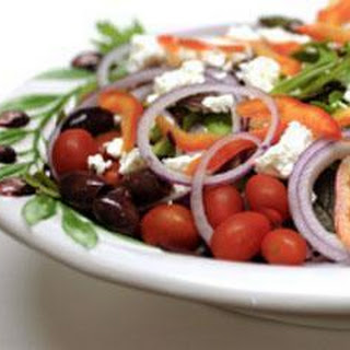 Chunky Greek Salad Recipe
