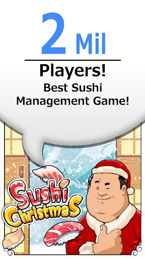 クリスマスに寿司? 定番寿司ゲームのクリスマスバージョン