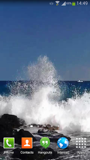 Ocean Waves Live Wallpaper 14  screenshots 3