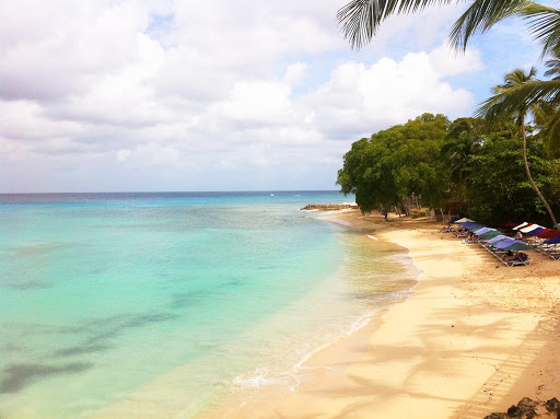 The view from St. James in Barbados.