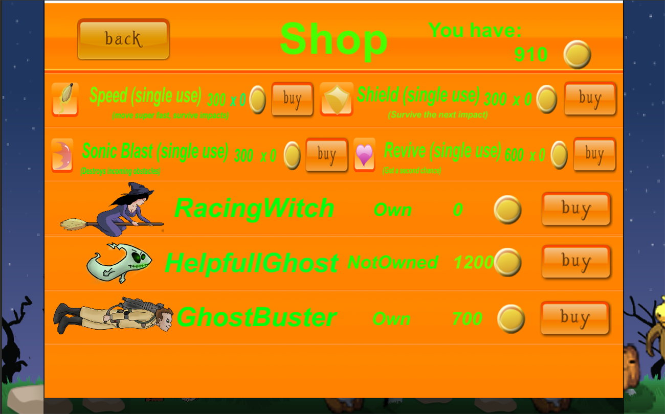 Halloween Fun Race- screenshot