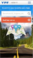Screenshot of Guía YPF