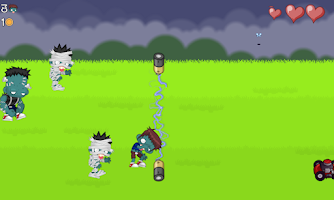Screenshot of Aplasta Zombies