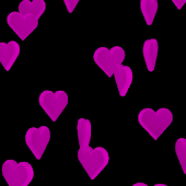 Valentine Hearts 3D Wallpaper