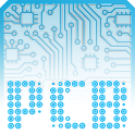 PCB Blue ⁞ CM12 Theme icon