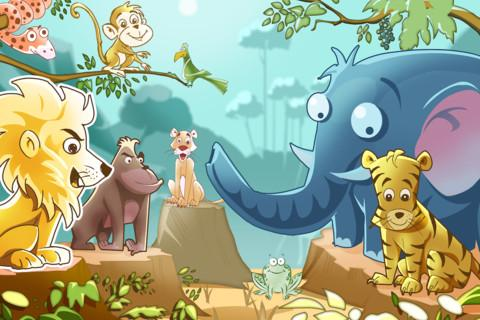 Funny Animals Jungle- screenshot