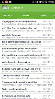 Landkreis Emsland - screenshot