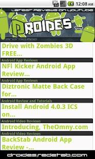 Droides - Apps/Phones Reviews- screenshot thumbnail